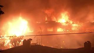 Thomas Fire completely destroys apartment complex in downtown Ventura | ABC7