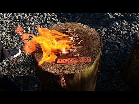 Wax Wood Stick Fire Starter Alternative Fatwood
