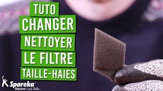 TUTO - Comment changer ou nettoyer le filtre à air de votre taille haies thermique