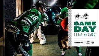 NHL 18 PS4. REGULAR SEASON 2017-2018. Vancouver CANUCKS VS Dallas STARS. 02.11.2018. (NBCSN) !