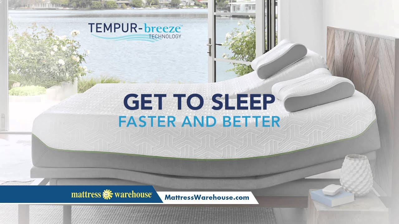 Experience The New Tempur Pedic Breeze ly At Mattress Warehouse