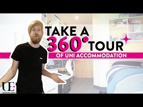 En Suite Hickling & Barton 360° Accommodation Tour | University of East Anglia (UEA)