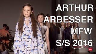Tap The Bell Arthur Arbesser Woman Spring Summer 2016 Fashion Show