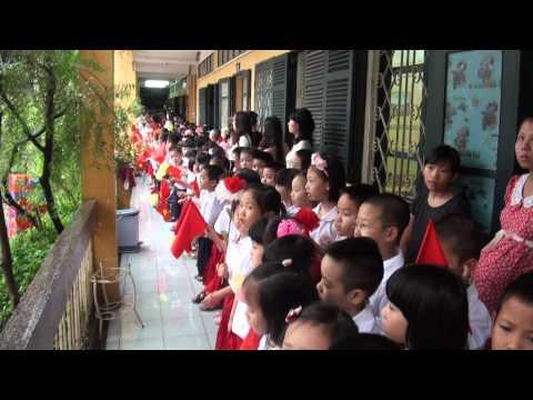 Lễ Khai Giảng trường tiểu học Kim Đồng 2013