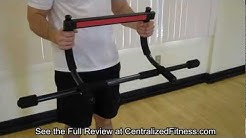 Creative Fitness Door Gym Pull Up Bar REAL Review