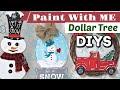 DIY Christmas Decor 2019 | Dollar Tree Makeovers | Krafts by Katelyn