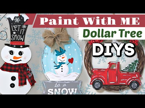 DIY Christmas Decor 2019 | Dollar Tree Makeovers | Krafts By Katelyn