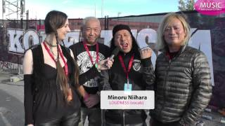 Interview with the Japanese Heavy Metal band LOUDNESS. Recorded at ...