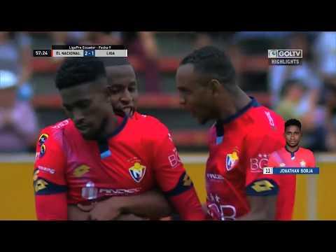 El Nacional 2:2 LDU Quito