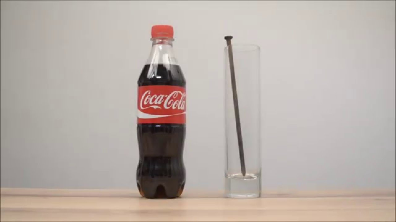 Кола и ржавый гвоздь/Cola and a rusty nail