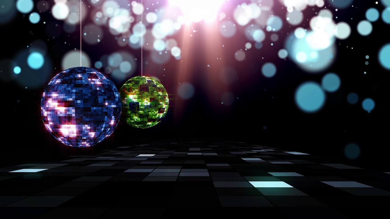 Disco Ball Background Hd Video Music Concert Backdrop Youtube