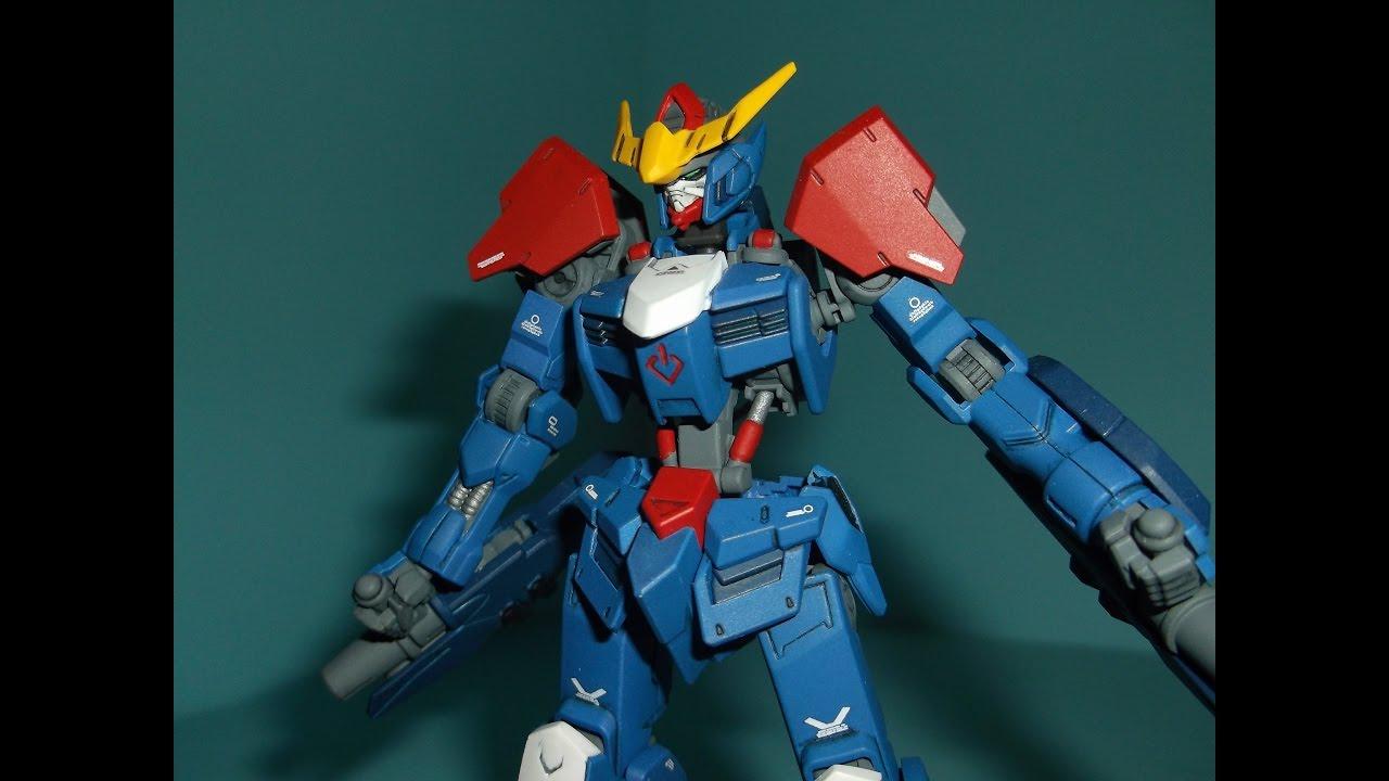 Download Prime92 Customs: 1/144 HG Barbatos Unit 2 (Bluebatos)