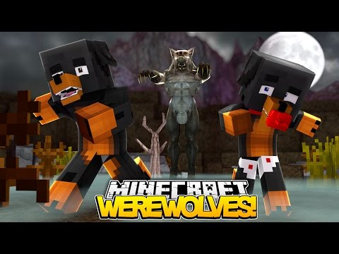 Minecraft WEREWOLVES -  VISCIOUS WEREWOLF ATTACKS DONUT - donut the dog minecraft roleplay