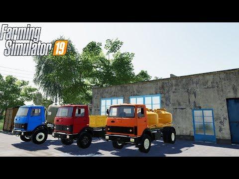 РУССКИЙ МОД ПАК МАЗ-5337 ДЛЯ FARMING 19