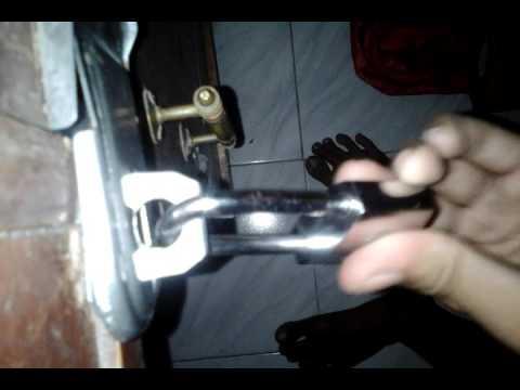 cara membuka gembok dengan mudah