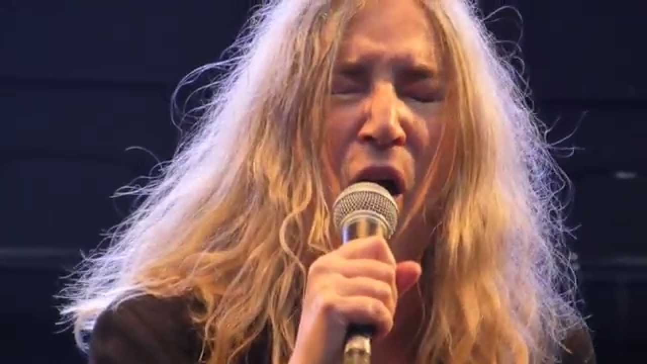 Patti Smith Gloria Arena Vienna 2015 Youtube