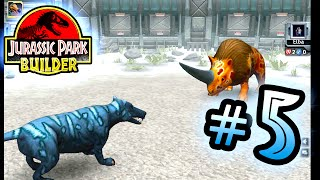 Jurassic Park Builder: GLACIER Tournament: Part 5 Wolf! HD
