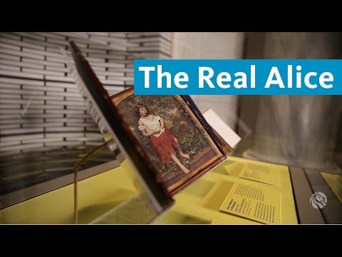 The Real Alice in Wonderland: Highlights from the ABC of It at NYPL