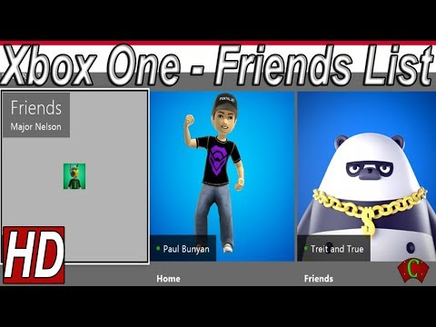 Xbox One Friends List Features【HD】