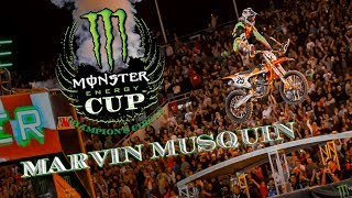 Monster Energy Cup Champions Circle - Marvin Musquin