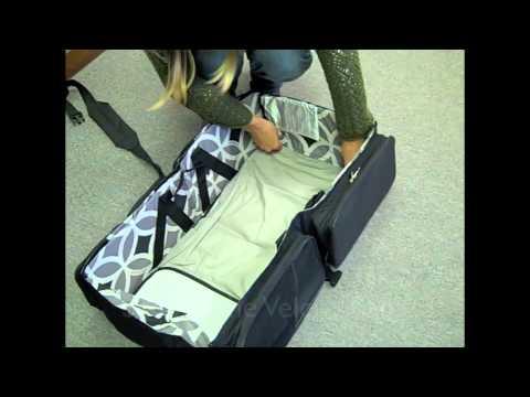 Quicksmart 3 In 1 Travel Bassinet Instructional Short Youtube