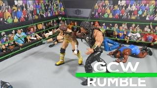 GCW Royal Rumble ´17 Full Show   WWE Figures