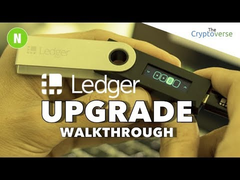 Upgrading Ledger Nano S to Firmware 1.4.1 - Walkthrough