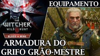 Equipamento de Bruxo: Armadura do Grifo Grão Mestre - The Witcher 3 Blood & Wine