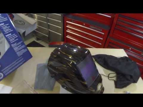Lowe's Kobalt Welding Helmet Unboxing and Review
