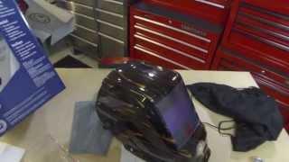 Lowe's Kobalt Welding Helmet Unboxing and Review