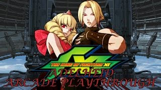 The King of Fighters XI: Adelheid Arcade Playthrough & Ending (PS2) (1080P/60FPS)