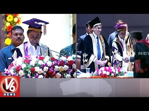 NALSAR University Of Law 15th Convocation In Shamirpet  | Hyderabad | V6 News