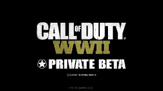 Call of duty WW2 beta main theme