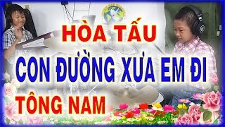 CON ĐƯỜNG XƯA EM ĐI - Hòa Tấu Tông NAM - PHONG BẢO Official