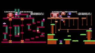 [TAS] NES Donkey Kong & Donkey Kong Jr. by CyorisRetro in 01:22.38