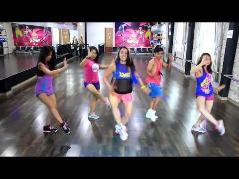 "Zumba ""Paradinha By Anitta / Choreo By Chenci At Bintang Fitness Studio ,Sangatta ,Borneo"
