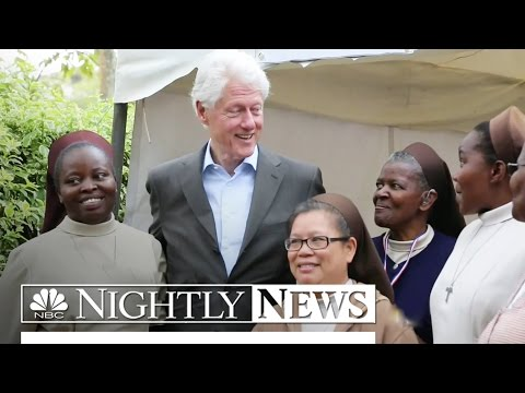 Bill Clinton Defends Clinton Foundation's Foreign Money | NBC Nightly News
