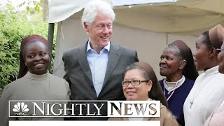 Bill Clinton Defends Clinton Foundation