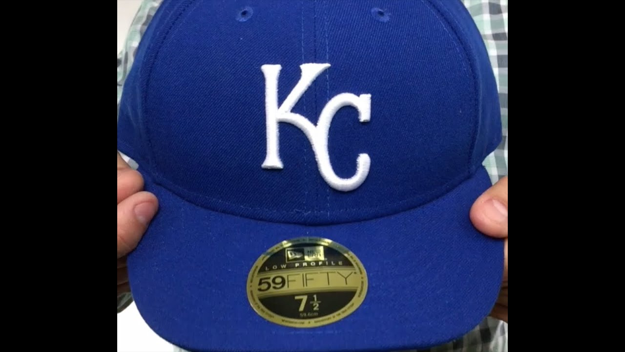 281afae5 Royals 'LOW-CROWN' GAME Fitted Hat by New Era