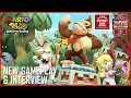 Mario + Rabbids: Donkey Kong's Adventure | New Gameplay Details and Interview | Ubisoft [NA]