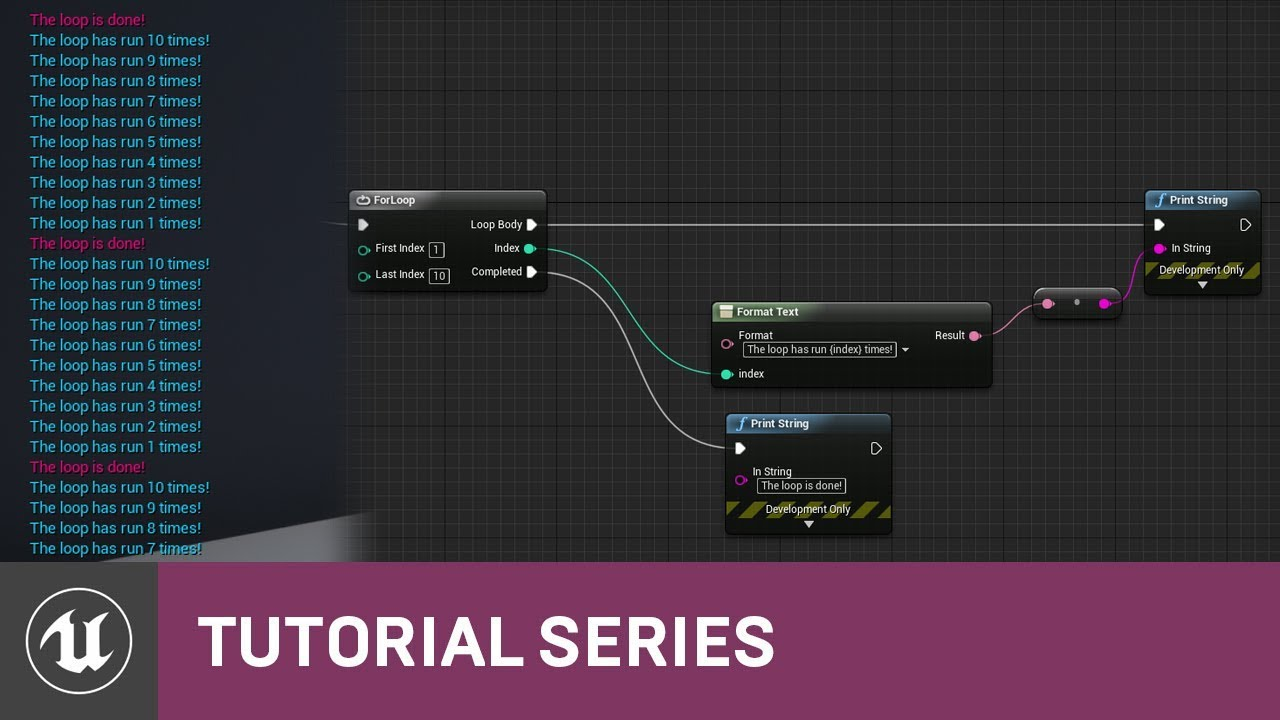 Blueprint essentials for loops 09 v42 tutorial series unreal blueprint essentials for loops 09 v42 tutorial series unreal engine malvernweather Image collections