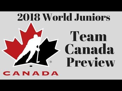 2018 WJC Team Canada Preview