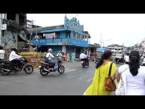 Port Blair city center Andaman Nicobar 2010