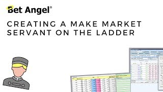 Bet Angel - Creating a custom 'Make market' Servant
