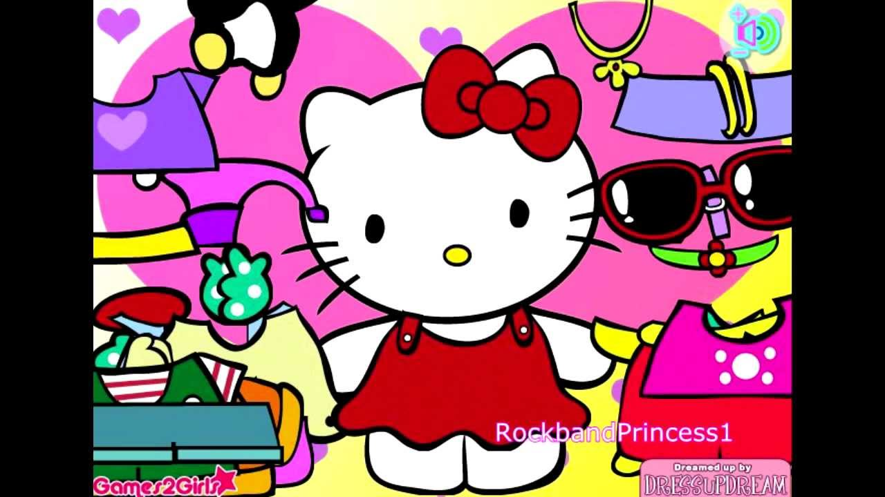 hello kitty online games hello kitty clothing dress up game youtube. Black Bedroom Furniture Sets. Home Design Ideas