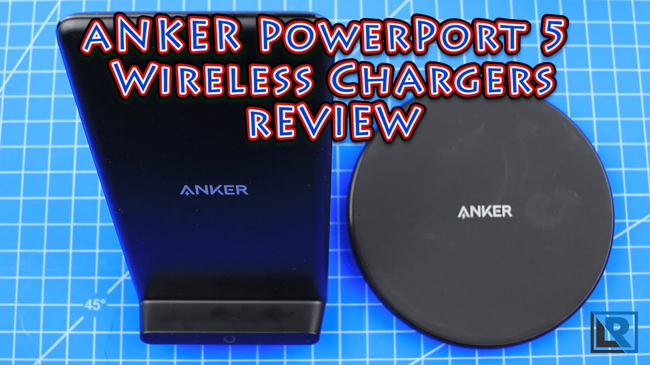 low priced d47f5 cec89 Anker PowerPort Wireless 5 charger reviews (iPhone 8, iPhone X, Galaxy S8,  Note 8, etc)