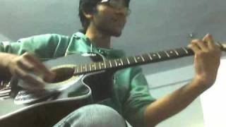 Gulabi aankhen(atif version)-guitar chords