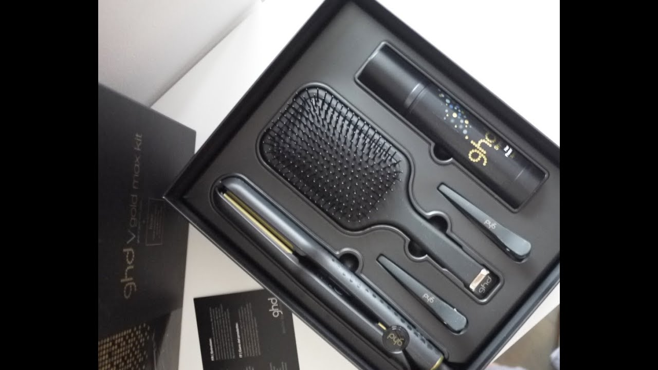 ghd v gold max styler review youtube. Black Bedroom Furniture Sets. Home Design Ideas