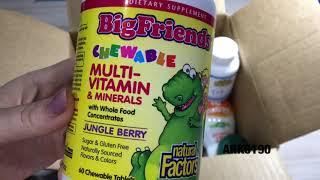 Распаковка посылки из IHERB какие витамины нужно пить во время пандемии?!