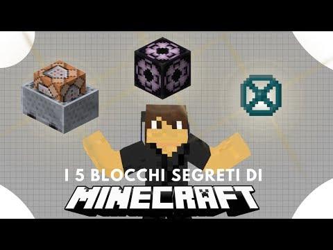 I 5 Blocchi Segreti Di Minecraft + Le Loro Funzionalità!!